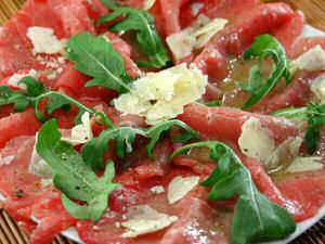 Carpaccio Recept