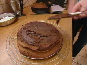 Chocoladetaart SOS Piet