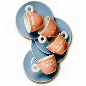 Illy espresso kopjes Louise Bourgeois