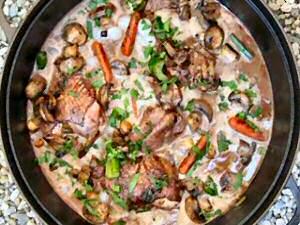 Recept coq au vin